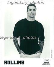 Henry Rollins 2 13 61 Records Original Press Photo