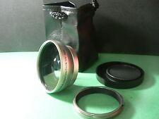 KAW SL 49mm 0.45X Wide-Angle Lens+Adapter Ring For Fujifilm Fuji X100 X70 Camera