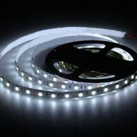 LED Strip Licht Streifen 5m Band Leiste 300 LED Weiß 5050 SMD DC 12V Roll 5000K