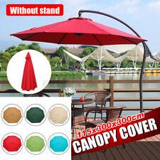 3x3 m Gazebo Top Cover Canopy Replacement Roof Sun Garden Patio Waterproof