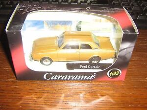 CARARAMA DIE CAST- FORD CORSAIR - OLD GOLD LIVERY 1:43