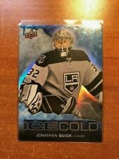 2017-18 Upper Deck Overtime Ice Cold #IC5 Jonathan Quick