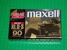 MAXELL XL II-S 90   VS. II   BLANK CASSETTE TAPE (1)  (SEALED)