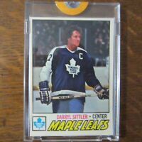 1977-78 Topps Vault DARRYL SITTLER 38 HOF NHL Color Key Proof Set Card COA Rare