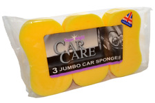 12 x  Jumbo Car Wash Sponge ( 4 packs of 3)