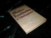 📚 Musikerhandschriften in 3 Jahrhunderten von Wolfgang Schmieder, GEBUNDEN