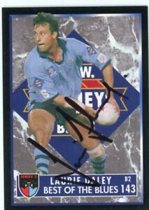 Signed 1995 Dynamic Laurie Daley (NSW/Raiders) Best of the Blues NRL Card