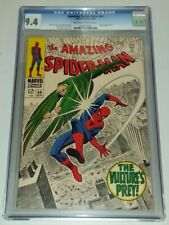 AMAZING SPIDERMAN #64 CGC 9.4 OFF WHITE TO WHITE PAGES MARVEL VULTURE (SA)