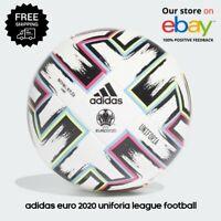 Adidas Euro 2020 Uniforia Leauge Football Ballon de Football Blanc - Taille 5