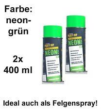 Plasti Dip it SPRÜHFOLIE Felgenfolie Flüssiggummi Neonspray neon-grün 2x 400ml