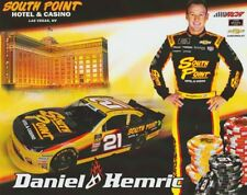 2018 Daniel Hemric South Point Chevy Camaro NASCAR Xfinity postcard
