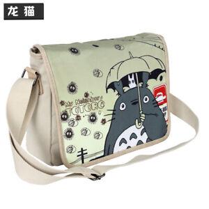 My Neighbor Totoro Cross Body canvas Shoulder Bag women Satchel Messenger Bags