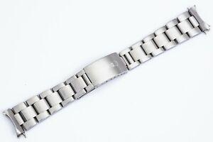 Vintage 1980 Rolex Steel Oyster Bracelet Ref. 78360 w/ 501B 20 mm Ends GMT/EXPII