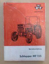 Massey Ferguson Schlepper MF155 Betriebsanleitung