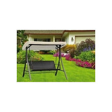 Dondolo rattan  3 posti per giardini giardino esterno modello terracina