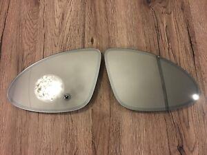 Porsche Cayenne 958 Facelift OEM LH RH mirror glass SET heating dimming 15-17