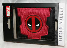 Marvel Comics Deadpool Cloth Synthetic Leather Wallet NEW NOS Box Billfold