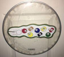 The Deftones Pool Table Logo Promo 13 Inch Drumhead Chino Moreno California Sac