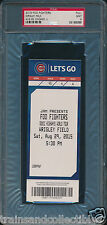 2015 Foo Fighters at Wrigley Field Full Concert Ticket PSA 9 mint #25198386 selten