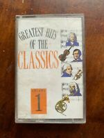 Greatest Hits of the Classics Volume 1 - Audio Cassette Tape