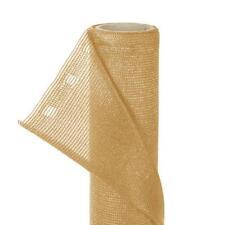 Zaunblende Sonnenschutz Sichtschutz Sonnenblende HaGa® beige 10m L x 1,5m Höhe
