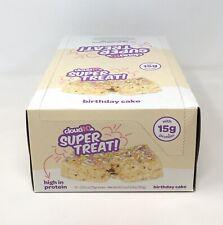 Case 10 Gluten Free Marshmallow Crispy Treat Bar High Protein/Birthday Cake (P2)