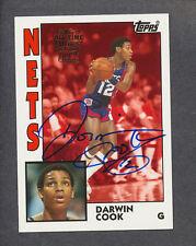 2005/06 Topps '52 Style Fan Favorites Autograph #FFA-DCO Darwin Cook