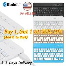 59 Keys Ultra Slim Bluetooth Wireless Keyboard For Smart Phone Tablet PC Android