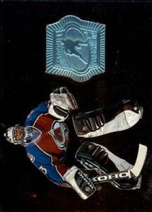 1998-99 SPx Finite Colorado Avalanche Hockey Card #154 Patrick Roy MP/2625
