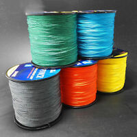 500M Braided Fishing Line 4 STRANDS Super Strong Saltwater Sea Nylon PE Line