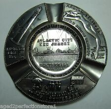 1954 ATLANTIC CITY NJ Centennial Tray NUDE MERMAID DIAMOND JUBLIEE of LIGHT