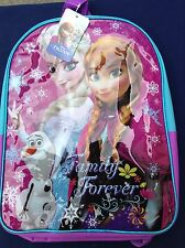 Disney Frozen Anna & Elsa 16' Backpack Pencil Case Pencils School Supplies Lot
