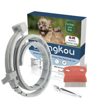 Flea and Tick Collar for Dog, Made with Natural Plant Essential Oils Waterproof