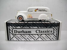 DURHAM CLASSICS 1939 FORD PANEL VAN RONALD MCDONALD 1/43 SCALE SERIAL #40