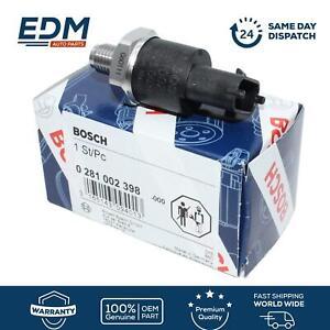 BOSCH Kraftstoffverteiler Drucksensor Fiat Ducato 2.3JTD Trafic Daily Kombo