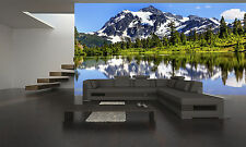 MOUNTAIN VIEW WASHINGTON Wall Mural Photo Wallpaper GIANT DECOR Paper Poster