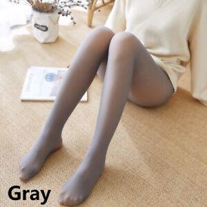 Flawless Legs Fake Translucent Warm Fleece Pantyhose Thick Winter Women Tights