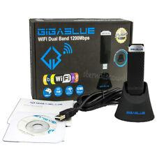Gigablue WLAN Wifi 1200 Mbit ☂︎ USB 3.0 Stick DUAL BAND 2,4|5 GHz E2, PC, Laptop