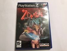 SONY PLAYSTATION 2 PS2 GAME ZOMBIE ZONE +BOX & INSTRUCTIONS COMPLETE PAL