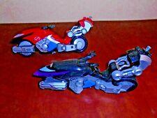 2 Bandai Power Rangers Operation Overdrive Hovertek Cycle Motorcycle Bike Rd Blk