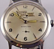 1966 Bill Stafford Mobile As Championship Pennant Winning Hamilton Watch Working