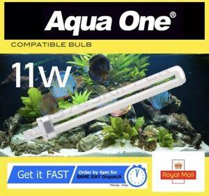 Aqua One 11w Bulb PL 11 watt 2 pin, white, compatible bulb 11w PL11w 11w