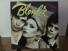 BLONDIE EAT TO THE BEAT album cover and inner sleeve (NO RECORD) FREE SHIPPING!