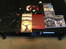 Sony PlayStation 3 GOW Ascension Legacy Bundle 500GB Red Console plus 5 games