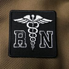 Black & White Registered Nurse RN Patch