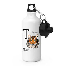 Letter T Is For Tiger Sports Drinks Bottle Camping Flask - Funny Animal