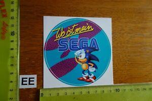 Alter Aufkleber Computerspiele SEGA (C)