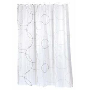 Carnation Home Fashions FSC-AVA Ava Fabric Shower Curtain