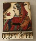 Sid Dickens T161 Queen of Hearts Memory Block, NEW, RETIRED
