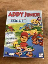 Addy Junior Englisch Lernspiel für PC & MAC Spiel 4-7 Jahre- selten
